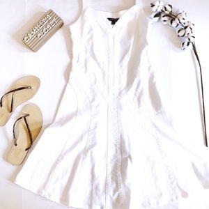 Lauren Ralph Lauren White Denim Dress
